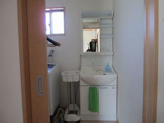 整体院の更衣室