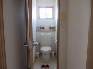 整体院のトイレ